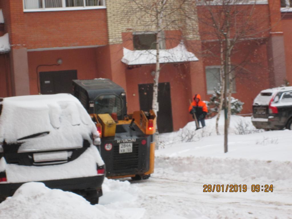 Уборка снега трактором беларусь